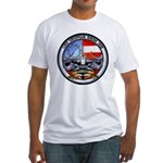 USS GEORGIA Fitted T-Shirt