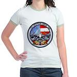 USS GEORGIA Jr. Ringer T-Shirt