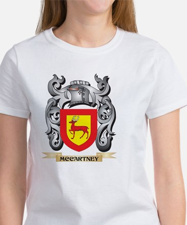 Mccartney Coat of Arms - Family Crest T-Shirt