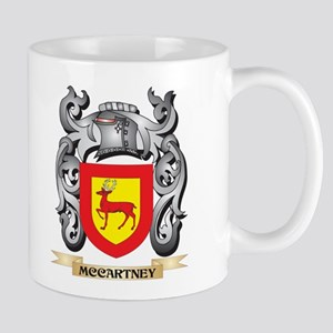 Mccartney Coat of Arms - Family Crest Mugs