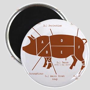 Delicious Pig Parts! Magnet