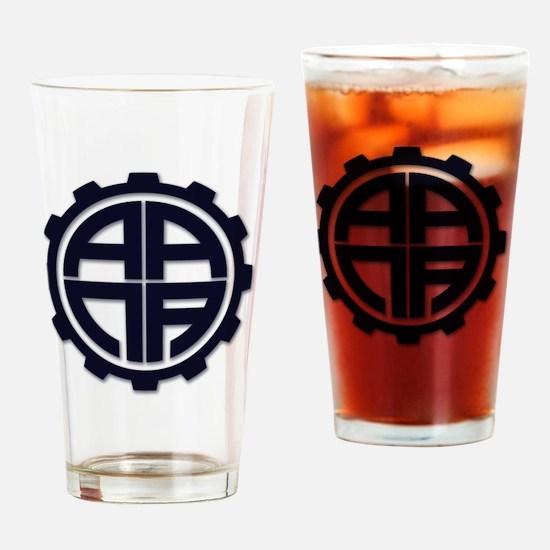 AANAGear_dark_LARGE Drinking Glass