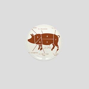 Delicious Pig Parts! Mini Button
