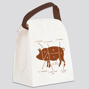 Delicious Pig Parts! Canvas Lunch Bag