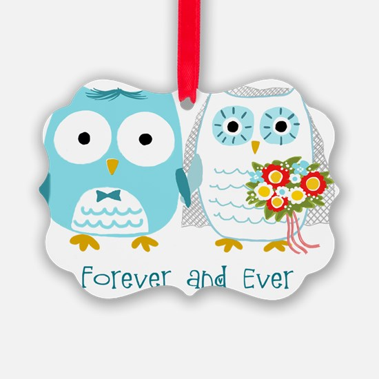 owlsforeverwht Ornament