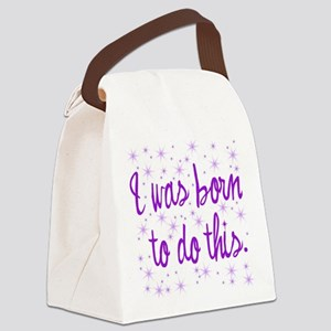 Born to Birth Canvas Lunch Bag