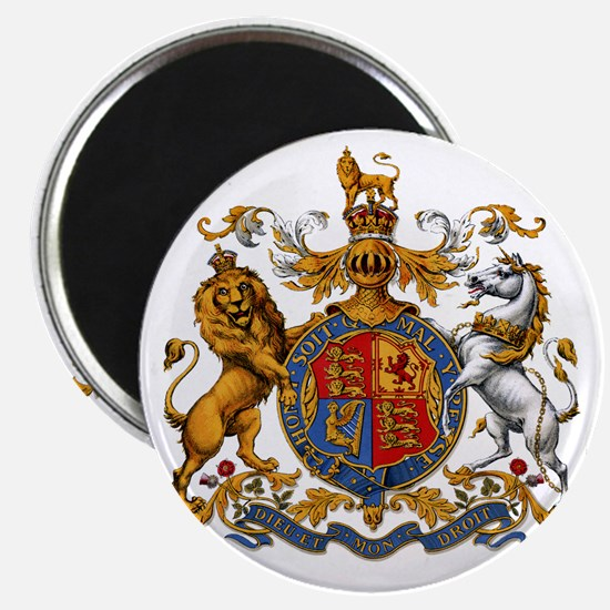 United Kingdom Coat of Arms Heraldry Magnet