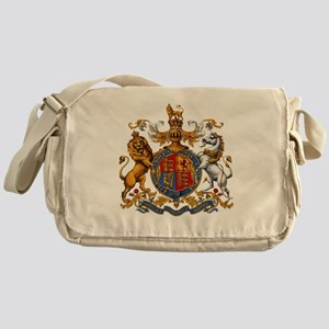 United Kingdom Coat of Arms Heraldry Messenger Bag