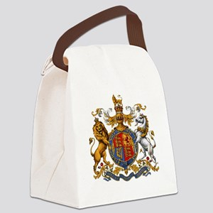 United Kingdom Coat of Arms Heral Canvas Lunch Bag