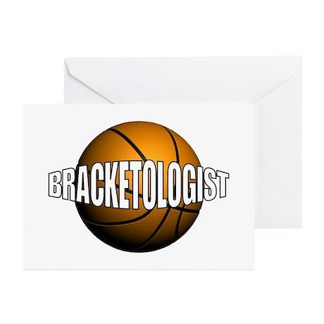 Bracketologist Greeting Cards (Pk of 10)