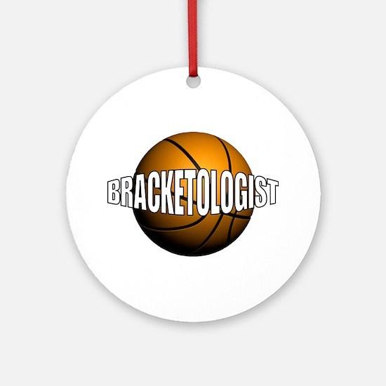 Bracketologist Ornament (Round)