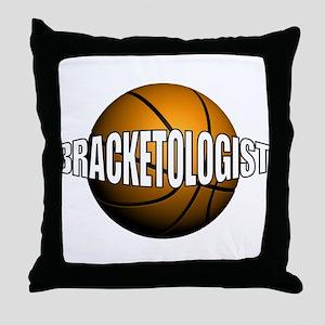 Bracketologist Throw Pillow