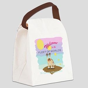 Fleet of Worlds Canvas Lunch Bag