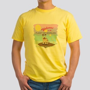 Fleet of Worlds Yellow T-Shirt