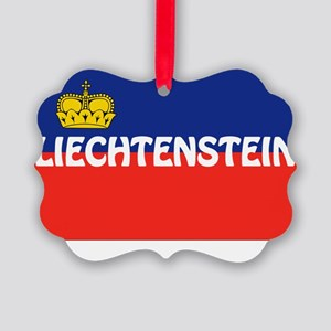 Liechtenstein Picture Ornament