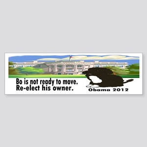 Bo Is Not Ready To Move Sticker (Bumper)