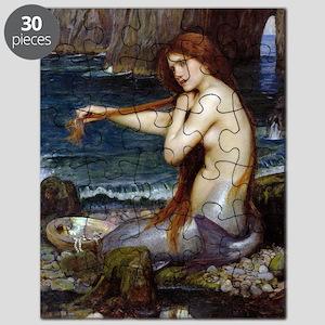 John William Waterhouse Mermaid Puzzle