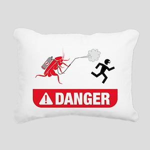 Exterminator Rectangular Canvas Pillow