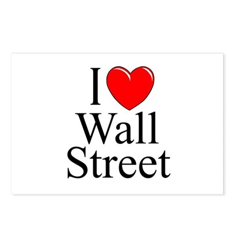 """I Love Wall Street"" Postcards (Package of 8)"