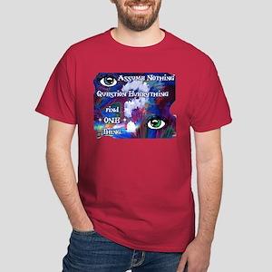 Question Assume Dark T-Shirt