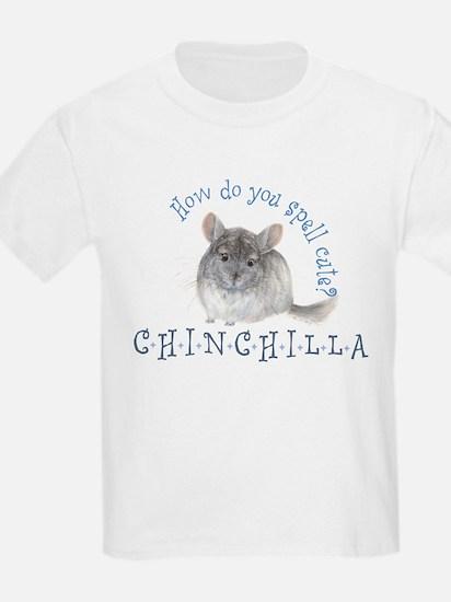 cute chinchilla Kids T-Shirt