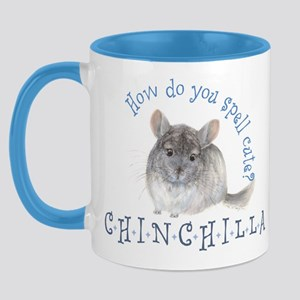 cute chinchilla Mug