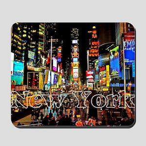 NY_5x3rect_sticker_TimesSquare Mousepad