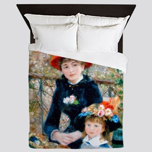 Shower Renoir 2 Sis Queen Duvet