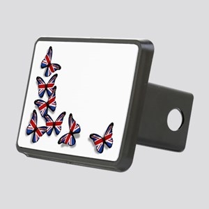 Butterflies Rectangular Hitch Cover