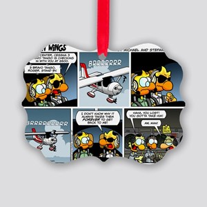 2L0027 - Cessna 3BT stand by! Picture Ornament