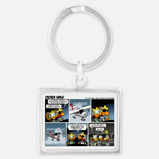 2L0027 - Cessna 3BT stand by! Landscape Keychain