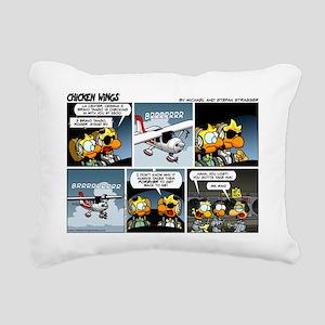 2L0027 - Cessna 3BT stan Rectangular Canvas Pillow