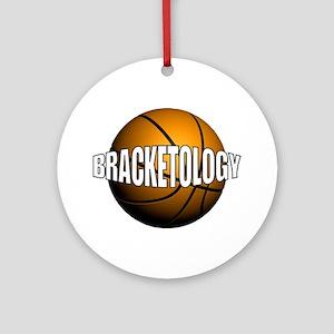 Bracketology Ornament (Round)