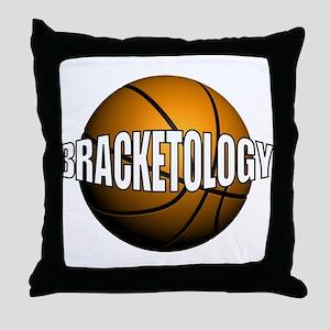 Bracketology Throw Pillow