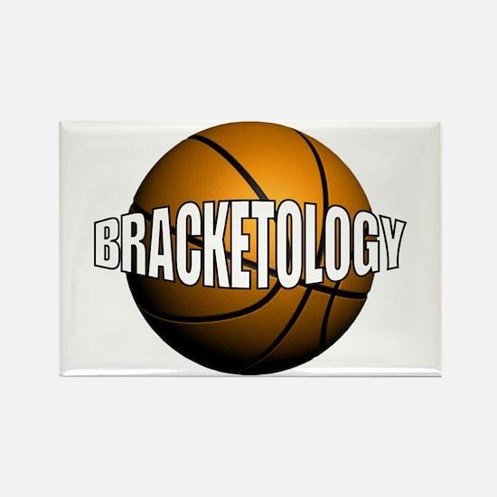Bracketology Rectangle Magnet