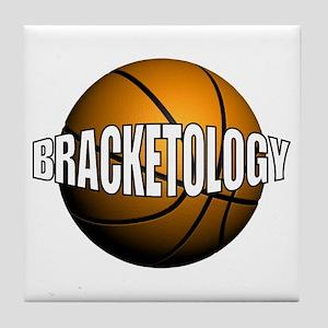 Bracketology Tile Coaster
