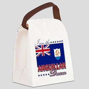 ANGUILLAN Canvas Lunch Bag