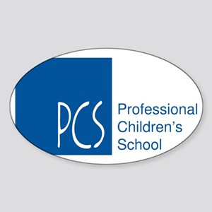 Professional Childrens School Logo Sticker (Oval)