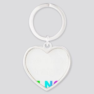 Lets Get One Things Straight...Im N Heart Keychain