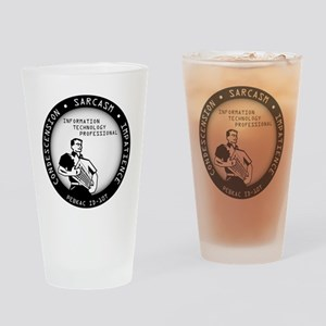 IT Pro Seal Drinking Glass