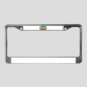 See,Speak,Hear No Evil License Plate Frame