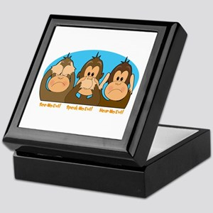 See,Speak,Hear No Evil Keepsake Box