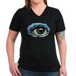Big Brother Women's V-Neck Dark T-Shirt