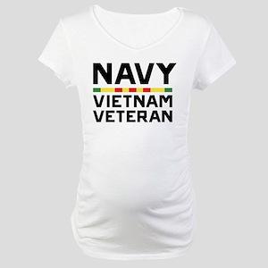 U.S. Navy Vietnam Veteran Maternity T-Shirt