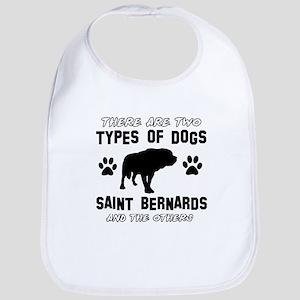 st bernard Baby Bib