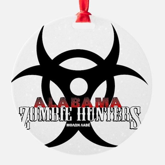 AZH white logo Ornament