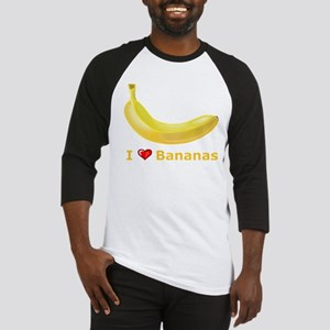 I Love Banana Baseball Jersey