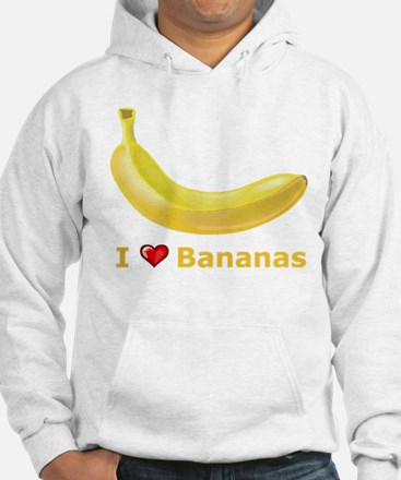 I Love Banana Jumper Hoody