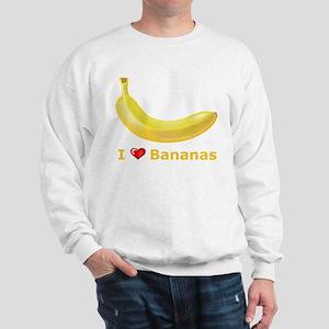 I Love Banana Sweatshirt