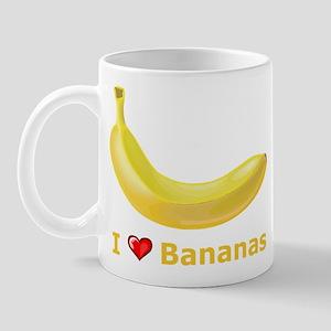 I Love Banana Mug